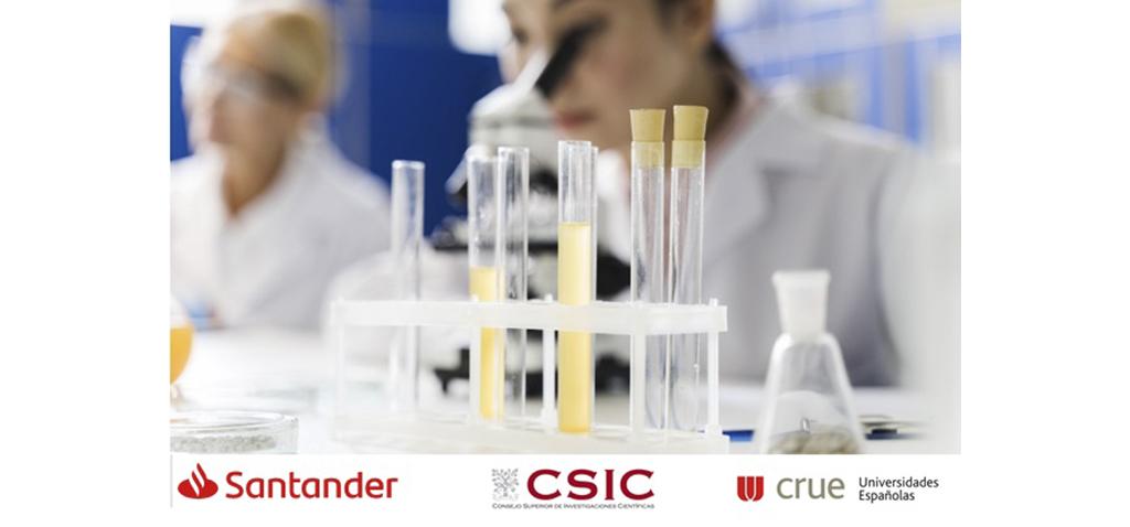 Santander moviliza otros 20 millones de euros para luchar contra el coronavirus junto a Crue Universidades Españolas y CSIC