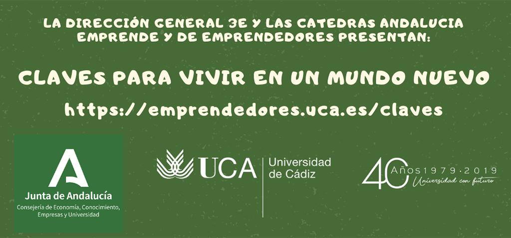 UCA Emprende organiza este jueves 23 el seminario digital 'Un mundo para los proyectos paralelos'