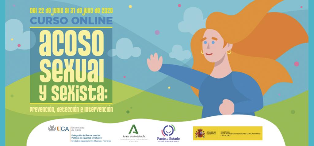 Curso online 'Acoso sexual y sexista: prevención, detección e intervención'