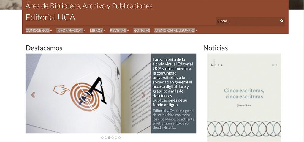 Editorial UCA rebaja el precio de sus libros electrónicos al 4% de IVA