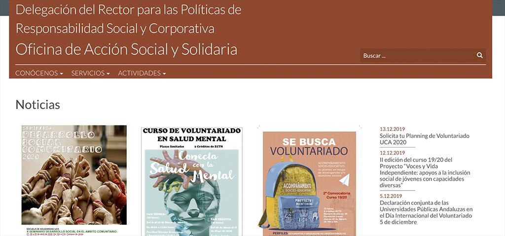 La UCA organiza el taller digital 'Autocuidado: la ansiedad derivada del confinamiento'