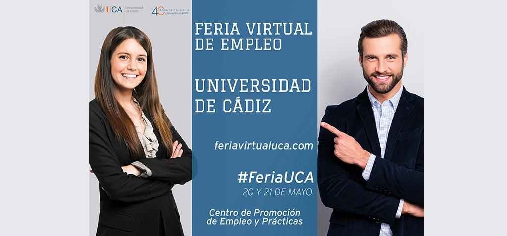 La UCA celebra hoy la segunda jornada de la Feria Virtual de Empleo