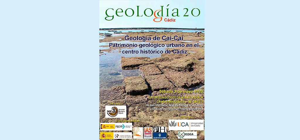 La UCA se suma este fin de semana a las actividades virtuales de una nueva edición del 'Geolodía'