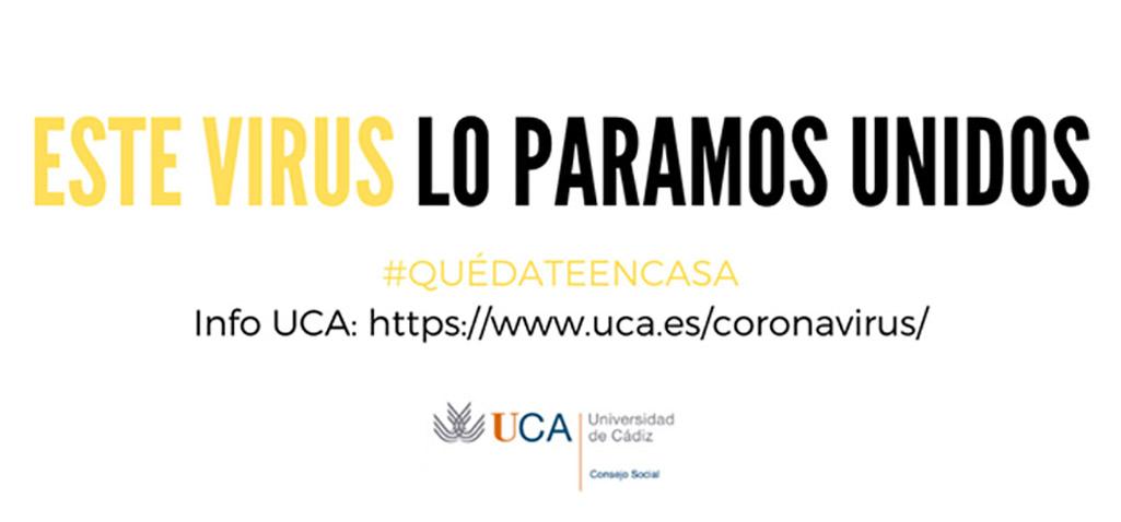 El Consejo Social de la Universidad de Cádiz pone en marcha iniciativas solidarias para sobrellevar el COVID-19