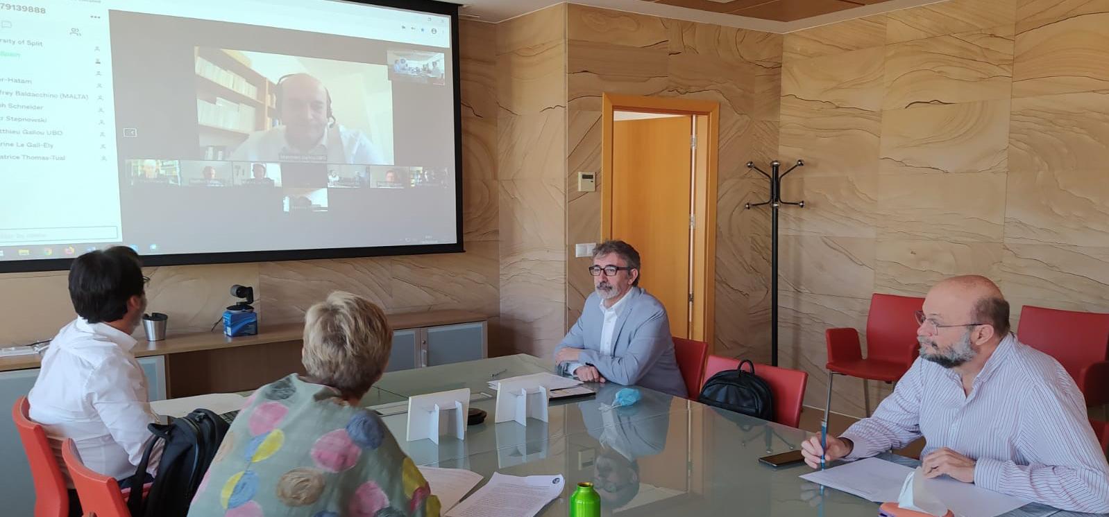 La UCA participa en la reunión preparatoria de la Junta de Gobierno de la SEA-EU del próximo mes de julio