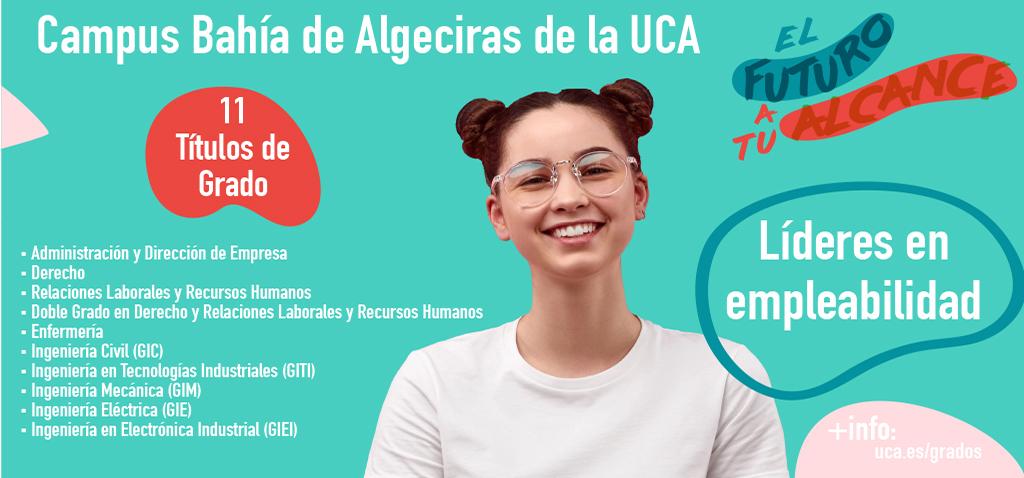 Ayuntamiento y UCA acuerdan presentar la oferta universitaria la próxima semana en el Campus Bahía de Algeciras