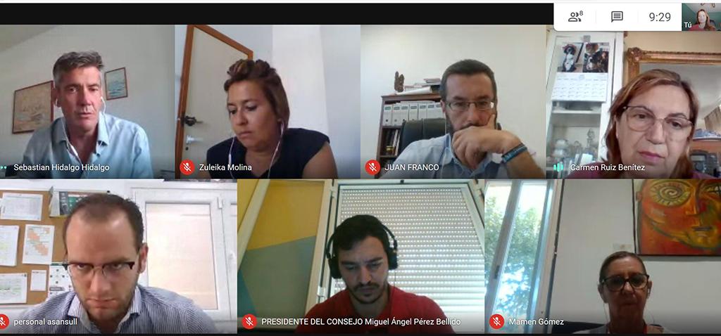 El Consejo Social de la UCA avanza en la 'Iniciativa Solidaria Covid19' con ayuntamientos de San Fernando, Cádiz, Jerez y La línea