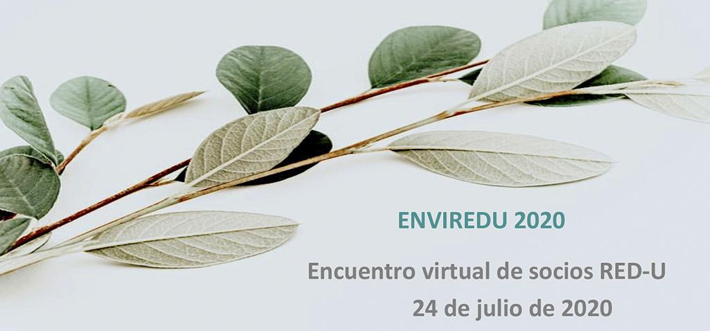 La UCA acoge el encuentro virtual de la Red Estatal de Docencia Universitaria – ENVIREDU 2020