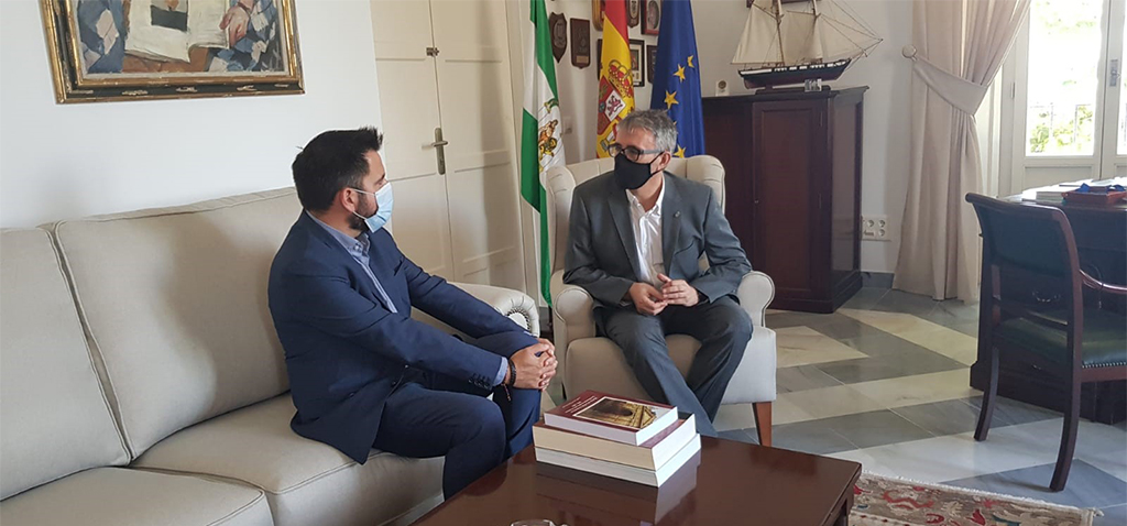 El rector de la UCA recibe la visita institucional del delegado de la Zona Franca de Cádiz