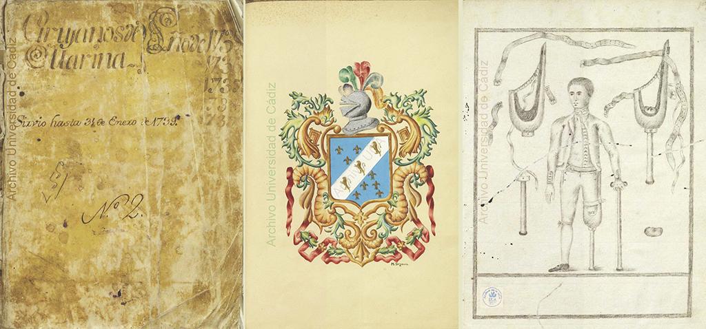 La UCA ultima el proyecto de la Biblioteca del Real Colegio de Cirugía de la Armada y Colecciones Ilustres