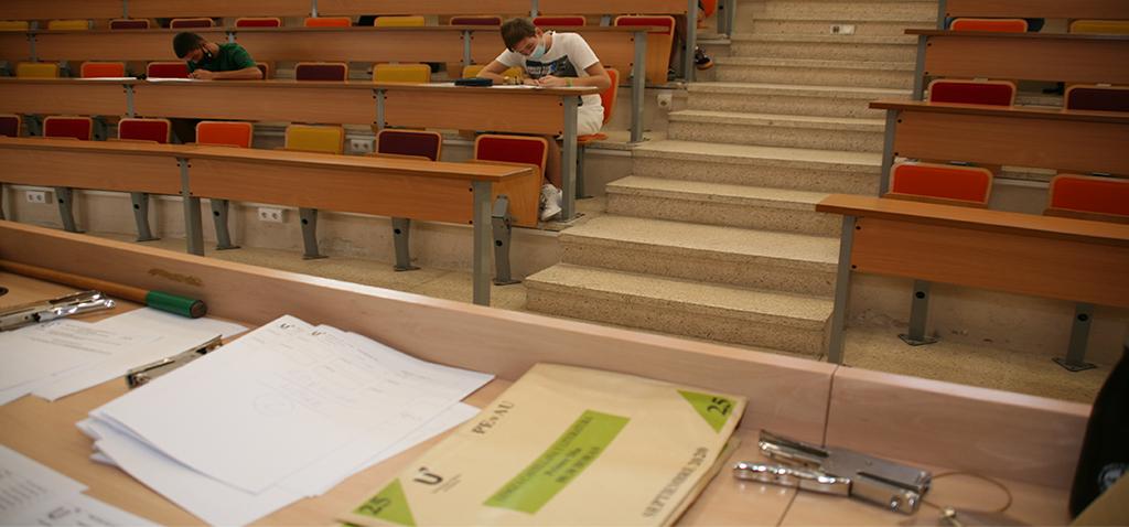 El 73% del alumnado aprueba las pruebas de acceso a la universidad en la convocatoria de septiembre