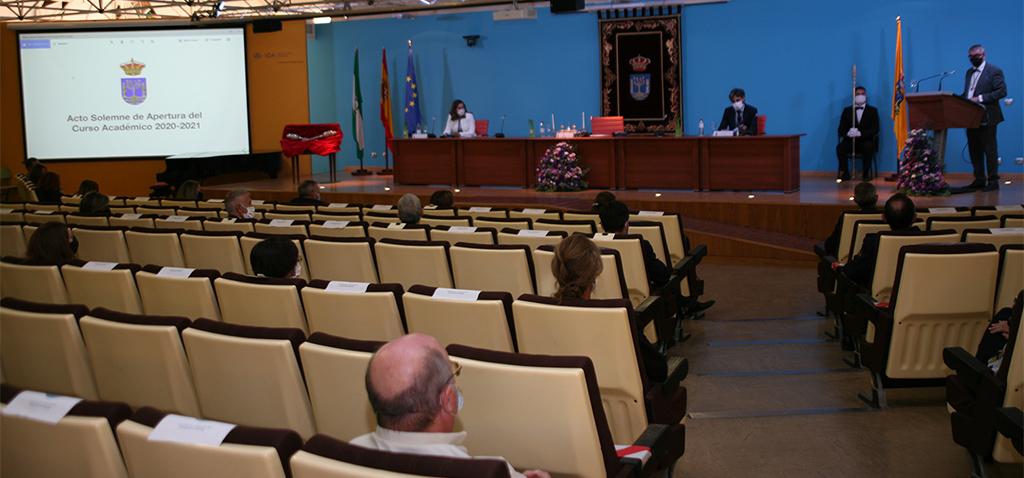 La UCA celebra la Solemne Apertura del Curso Académico 2020/2021