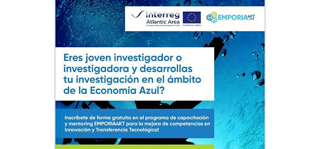 Abierta selección de 12 investigadores para participar en el programa europeo 'Blue Economy Technology Transfer'