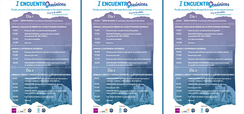 CEI·Mar impulsa el I Encuentro 'Oceánicas' junto al IEO, Ayuntamiento de Fuengirola e IMIO
