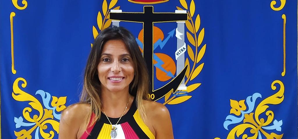 La profesora Vanesa Durán, primera directora de la Escuela de Ingenierías Marina, Náutica y Radioelectrónica
