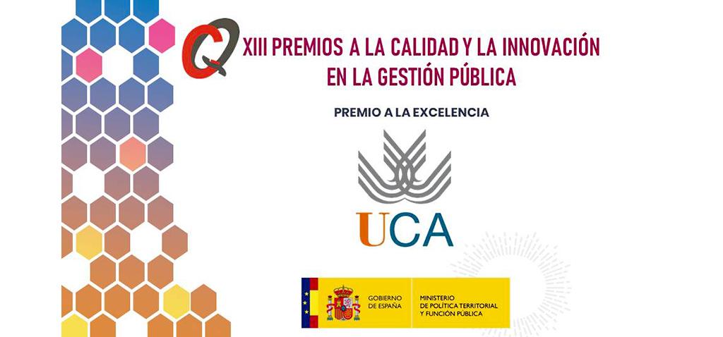 La UCA gana el Premio a la 'Excelencia en la Gestión Pública' del Ministerio de Política Territorial y Función Pública