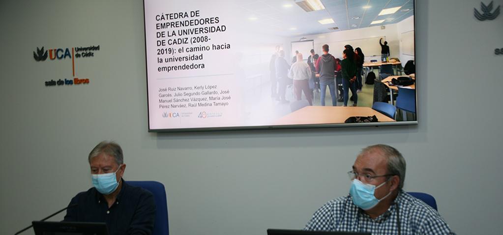La Cátedra de Emprendedores de la Universidad de Cádiz cumple 12 años con más de 855 actividades