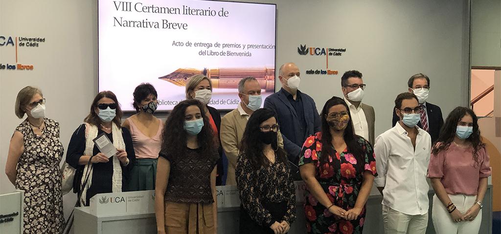 La UCA entrega los premios del VIII Certamen Literario de Narrativa Breve 'Biblioteca UCA'