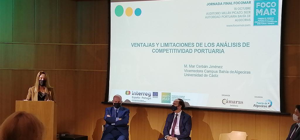 La UCA participa en la Jornada final de FOCOMAR en Algeciras