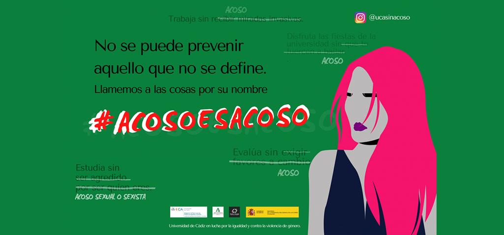 La UCA lanza la 'Campaña de sensibilización para la prevención del acoso sexual y del acoso sexista'