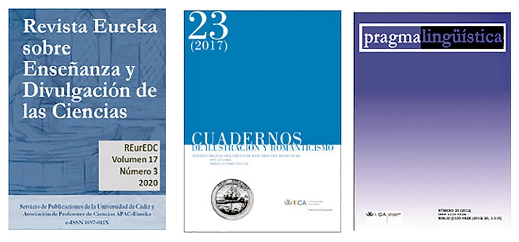 Las revistas científicas de Editorial UCA mejoran su posición en los rankings de FECYT 2020