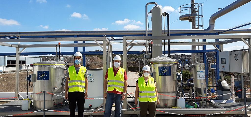 La UCA, presente en un proyecto europeo para purificar biogás con tecnología biológica que reduce el impacto ambiental