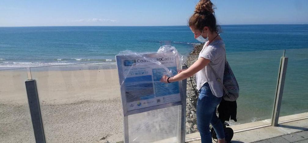 Investigadores de la UCA se suman a un proyecto de ciencia ciudadana para evaluar el cambio de las playas gaditanas
