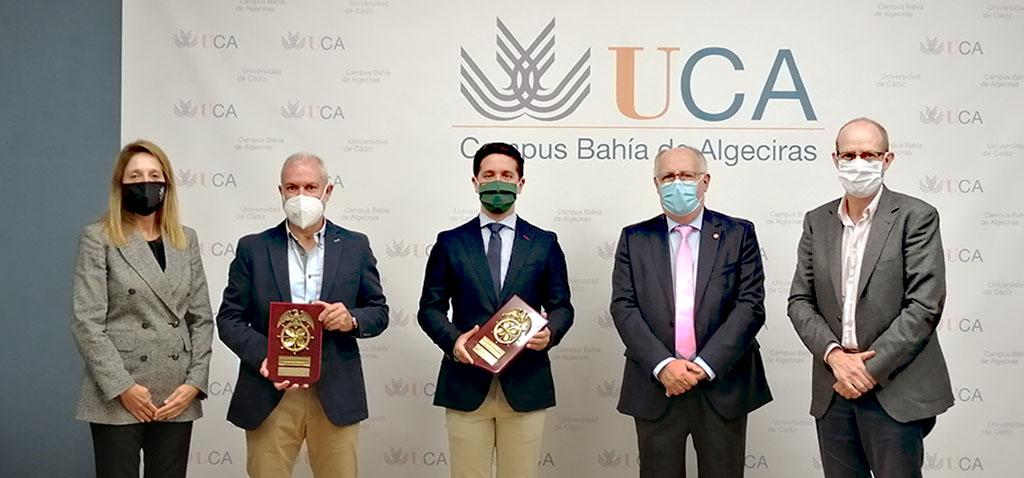 UCA y Propeller Club Algeciras entregan el premio a mejores expedientes del máster en Gestión Portuaria y Logística