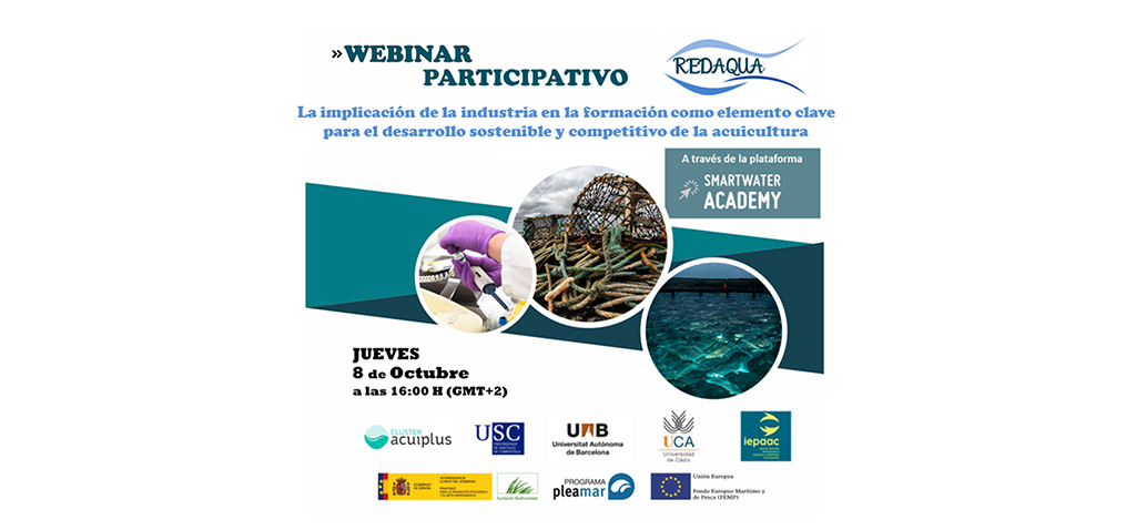 REDAQUA promueve encuentro entre la industria acuícola y la Universidad en pro de una acuicultura sostenible