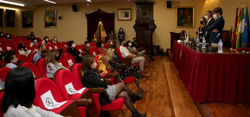 Toma de posesión de 22 funcionarios de la escala Auxiliar Administrativa en la UCA