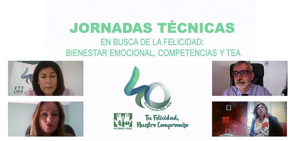 La UCA participa en las Jornadas 'En busca de la felicidad: bienestar emocional, competencias y TEA'