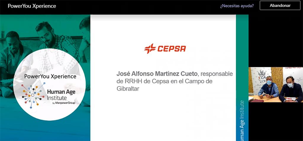 Comienza la jornada 'PowerYou Xperience', con Human Age Institute, UCA y la Cátedra Fundación CEPSA en Algeciras