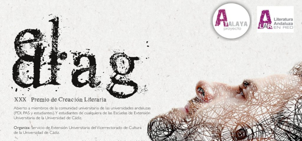 Abierta la convocatoria para el XXX Premio de Creación Literaria El Drag