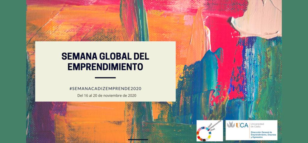 La UCA celebra la 7ª Semana Global del Emprendimiento #SEMANACADIZEMPRENDE del 16 al 20 de noviembre