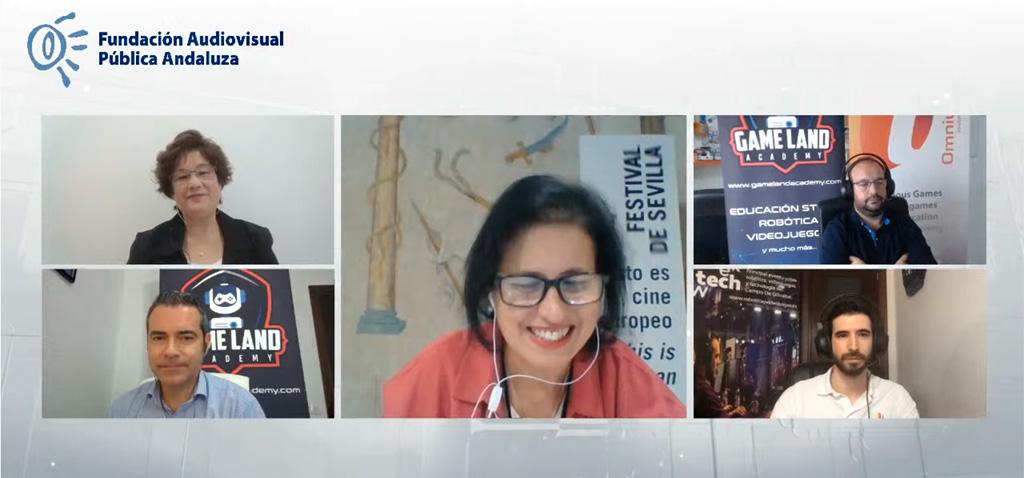 UCA y 'Omnium Lab' presentan 'EsCode Room' en el XVIII Encuentro de Animación y Videojuegos de Andalucía