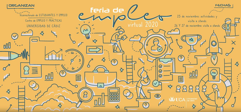 La Feria de Empleo de la UCA 2020 se inaugura mañana en formato virtual