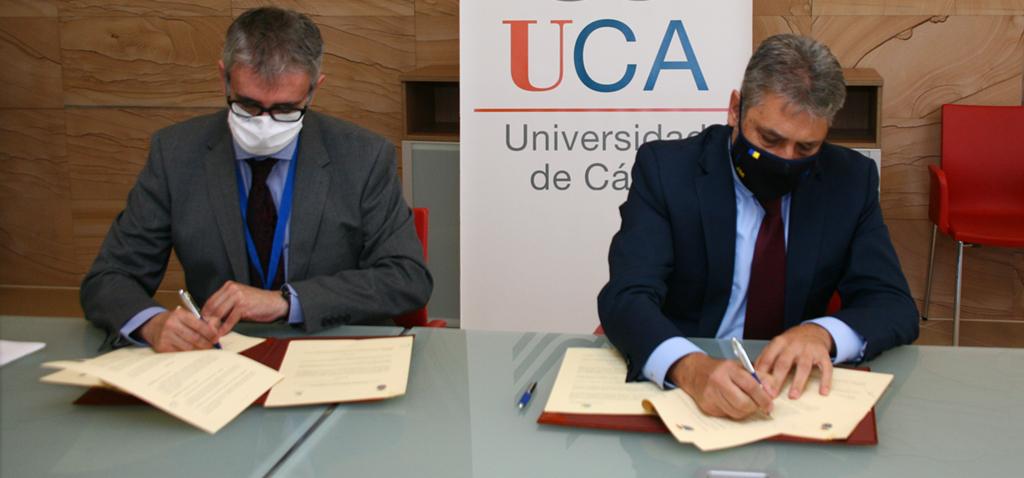UCA y Fundación Cádiz CF. firman un protocolo general de colaboración para promocionar el deporte y la vida saludable