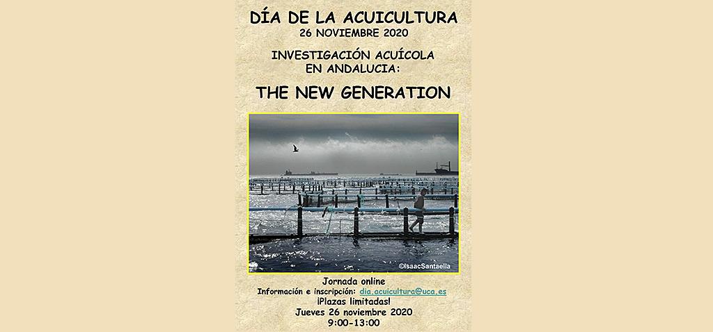 Jornada 'Investigación acuícola en Andalucía: the new generation'