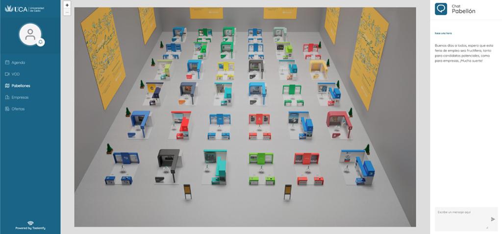 Arranca la Feria de Empleo de la UCA 2020 con 600 inscritos y más de 8.000 visitas virtuales