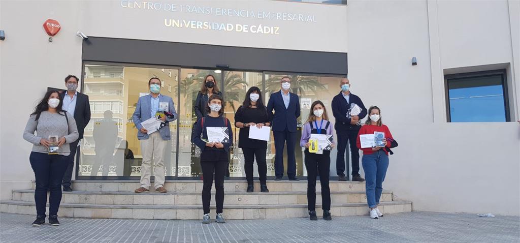 El Centro de Transferencia Empresarial 'El Olivillo' acoge la entrega de los premios 'Enfoca tus Servicios Centrales de Investigación'