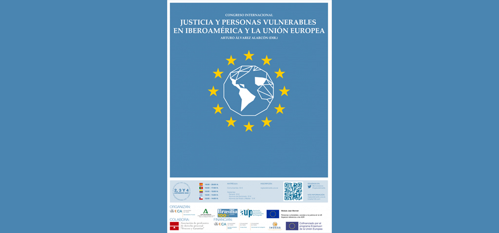 I Congreso Internacional 'Justicia y personas vulnerables en Iberoamérica y en la UE'