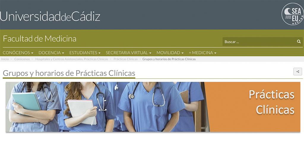 La Junta y la Universidad de Cádiz analizan las nuevas instrucciones para la incorporación de alumnado en prácticas a los centros sanitarios