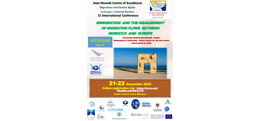 II Jornadas Internacionales 'Immigration and the management of migration flows between morocco and europe'