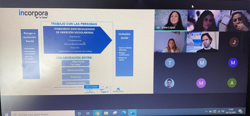 La UCA celebra online la II Jornada de Empleo y Discapacidad en la Facultad de Ciencias del Trabajo
