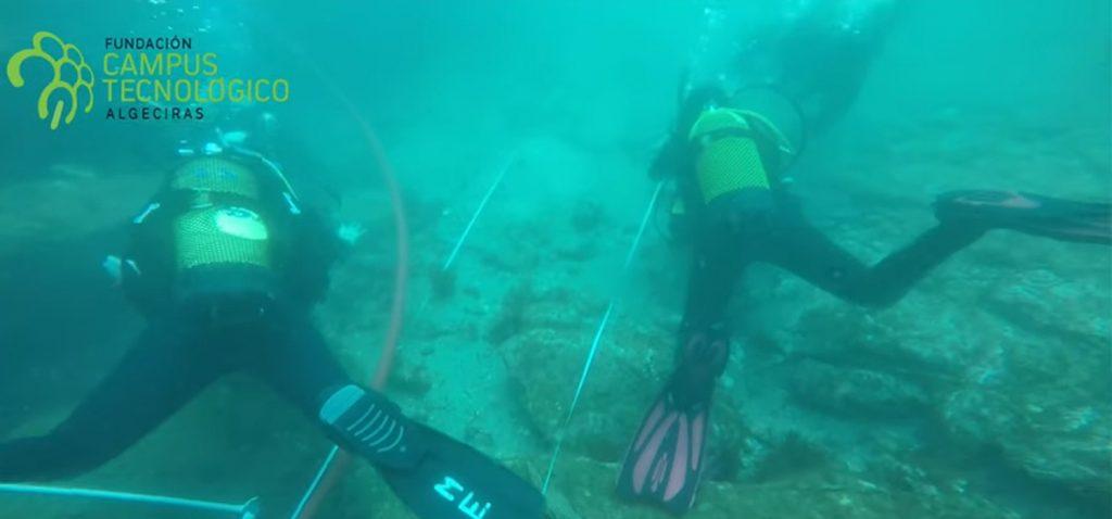 Investigadores de la UCA pondrán en marcha una ruta museística subacuática en el Parque Natural del Estrecho
