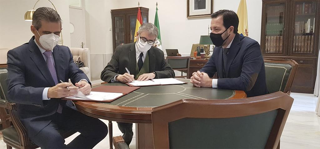 UCA y AEAT firman un protocolo de cooperación académica para impulsar distintas actividades formativas y divulgativas