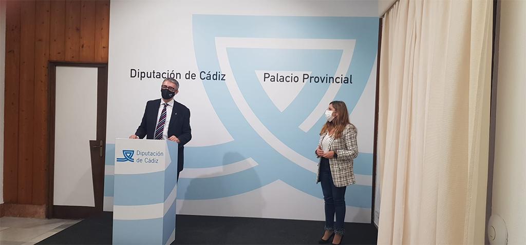 Diputación y UCA acuerdan presentar el proyecto de Valcárcel a los fondos de recuperación europea 'Next Generation'