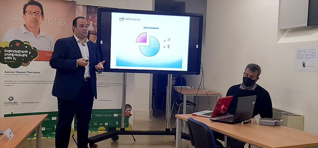 La tasa de actividad emprendedora naciente de Cádiz se sitúa segunda andaluza en el periodo 2019/2020