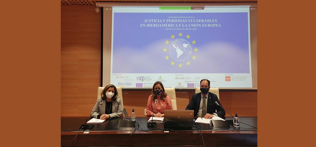 La UCA celebra el I Congreso Internacional sobre'Justicia y personas vulnerables en Iberoamérica y en la UE'