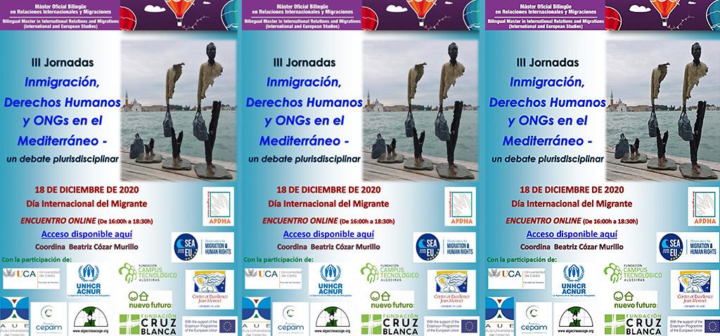 La UCA organiza mañana las III Jornadas'Inmigración, Derechos Humanos y ONGs en el Mediterráneo'